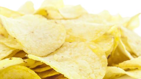 Potato chips Footage