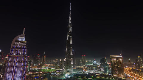 Burj Khalifa Stock Video Footage