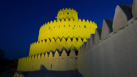Al Jahili Fort Footage