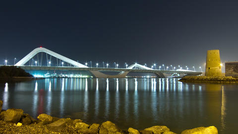 Sheikh Zayed Bridge Footage
