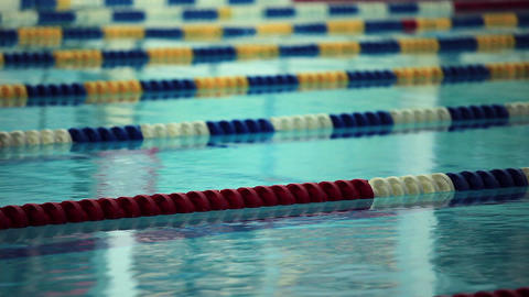 Swimming Lane Marker stock footage