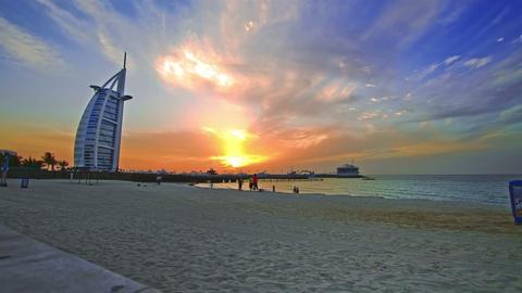 Burj Al Arab Footage
