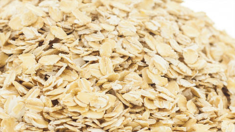 Raw oat Stock Video Footage