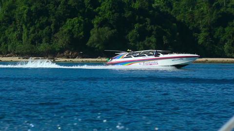 Speedboat Footage