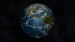 Animation of the Planet Earth Stock Video Footage