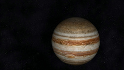 Animation of the Planet Jupiter Animation