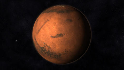 Animation of the Planet Mars Animation