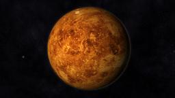 Animation of the Planet Venus Animation