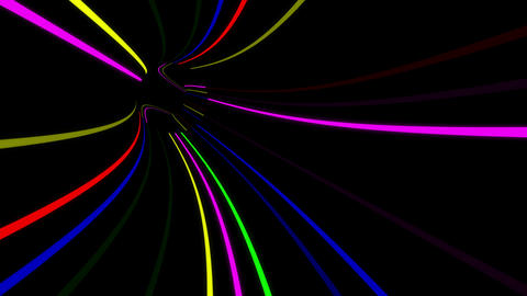 Tunnel Neon Tube