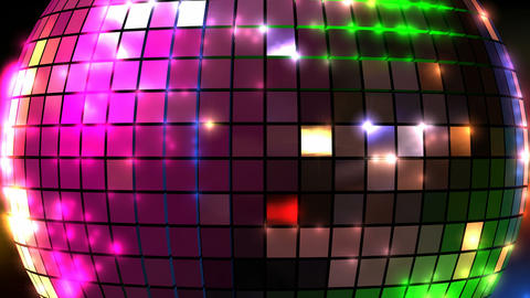 disco ball closeup front animation 2 Animation