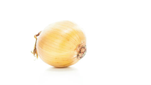 Raw onion Stock Video Footage