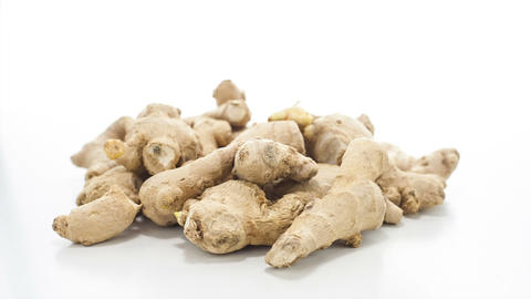 Raw ginger Stock Video Footage
