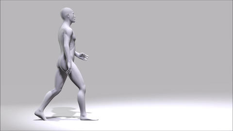 Walking Man Stock Video Footage