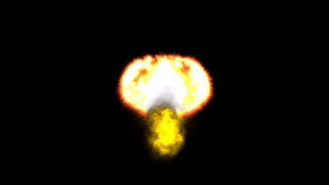Nuclear Explosion, Stock Animation