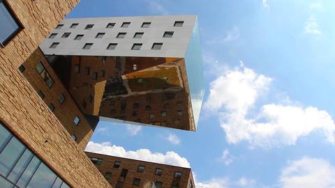 hotel building Footage