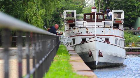 Hoppetosse steamboat Footage