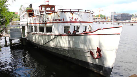 Hoppetosse steamboat Stock Video Footage