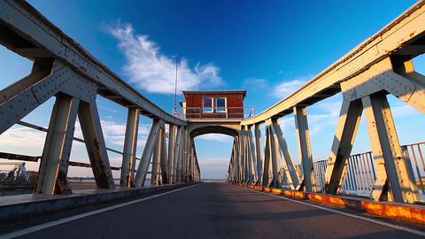 turning bridge Footage
