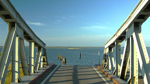 swing bridge Footage