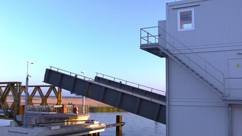 bascule bridge Footage