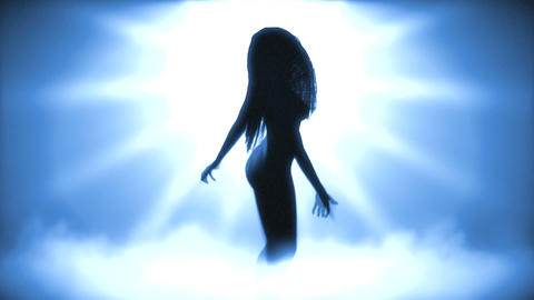 Sexy Dancing Girl 2 (Strobe Light) Animation