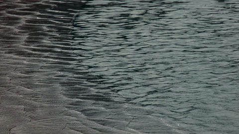 Ripples on the Water Surface Stock Video Footage