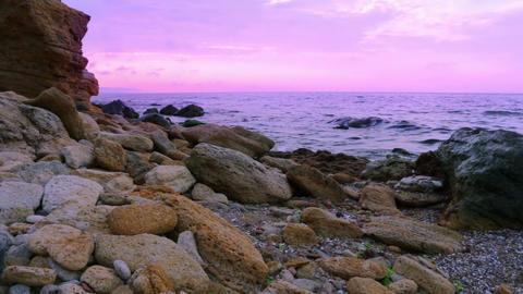 Evening Surf Footage