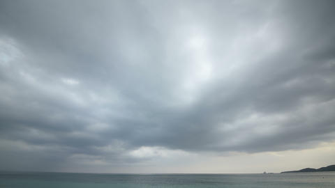 timelapse of cloudy day Footage