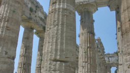 Collumns Ancient Greek Temple HDR 25fps stock footage