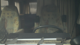 Front Window Camper 29,97fps stock footage