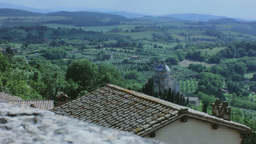 San Biagio Montepulciano Tuscany 29,97fps stock footage
