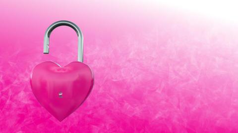 Heart lock 2 Stock Video Footage