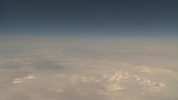 HD2008-8-9-25 737 aerial earth clouds Stock Video Footage