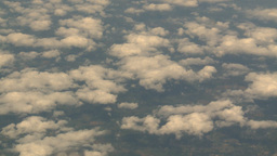 HD2008-8-9-27 737 aerial earth clouds Footage