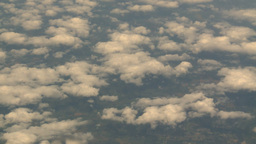HD2008-8-9-27 737 aerial earth clouds Stock Video Footage