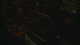 HD2008-8-9-33 Night To Day TL NYC Hotel 40 Th Floor stock footage
