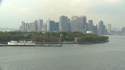 HD2008-8-10-2 NYC skyline Footage