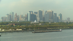 HD2008-8-10-8 NYC skyline Footage