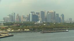HD2008-8-10-8 NYC skyline Stock Video Footage