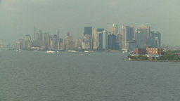 HD2008-8-10-10 NYC skyline Footage