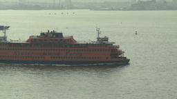 HD2008-8-10-12 staten island ferry Stock Video Footage
