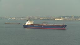 HD2008-8-10-22 big ship Stock Video Footage