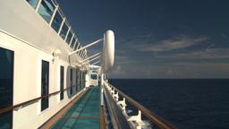 HD2008-8-10-30 cruise ship open ocean Stock Video Footage