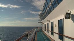 HD2008-8-10-32 cruise ship open ocean Stock Video Footage