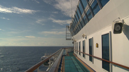 HD2008-8-10-32 cruise ship open ocean Stock Video Footage