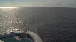 HD2008-8-10-40 cruise ship open ocean Footage