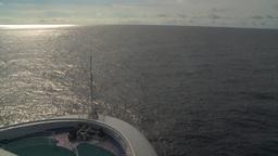 HD2008-8-10-40 cruise ship open ocean Stock Video Footage
