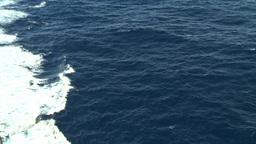 HD2008-8-10-48 ships wake Stock Video Footage