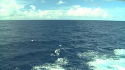 HD2008-8-10-60 ships wake Stock Video Footage