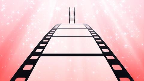 Film Strip A02b Stock Video Footage